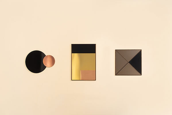 Constructivist Mirror Series by Nina Cho