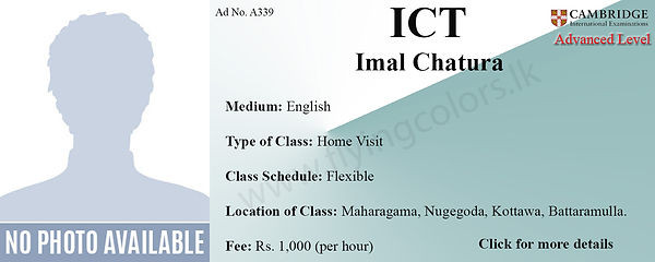 Cambridge A/L ICT Home Visit Tuition in Colombo
