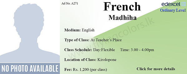 French Tuition in Sri Lanka Colombo Edex