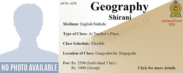 Local A Level Geography Tuition in Colom