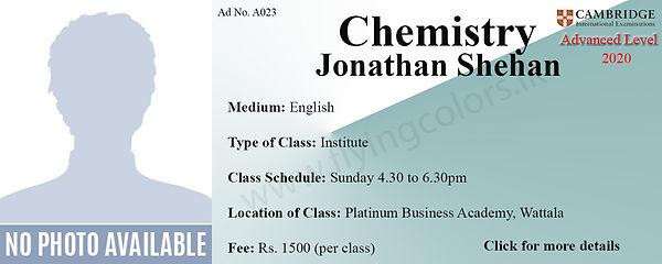 Chemistry Tuition Cambridge A/L at Platinum Institute Wattala Colombo