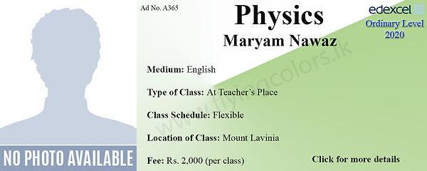 Physics O Level Tuition in Mount Lavinia | Edexcel