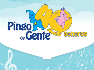 Pingo de Gente 40 anos - CD