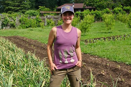 Growing Garlic Ladies Festival Muscle Tank