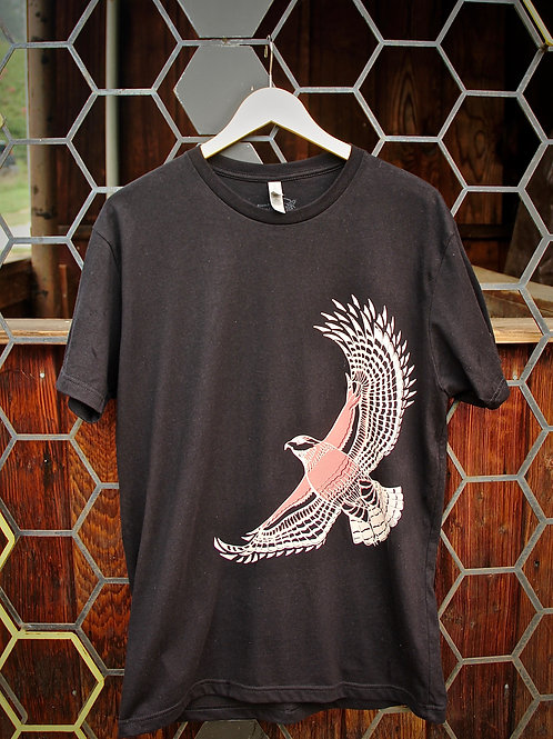 Red Shoulder Hawk Unisex T-Shirt