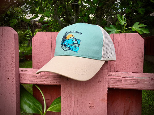 Humboldt County Baseball and Trucker Cap