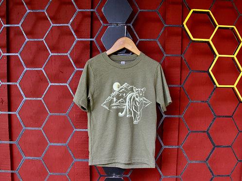 Mountain Lion Toddler Unisex T-Shirt