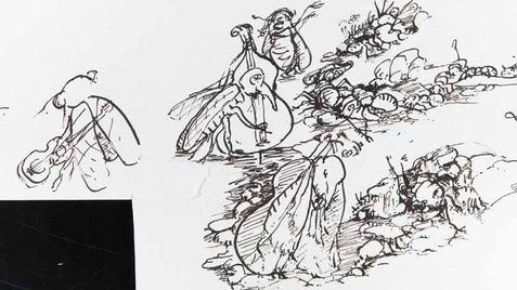0039 - La Cigale et la Fourmi - Fable 1