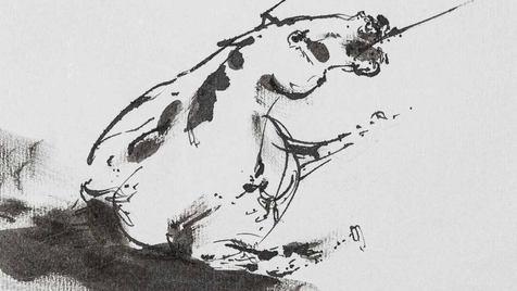 0010 - L'âne chargé d'éponges et l'âne c