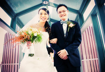 Bride and Grroom