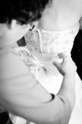 Mom and daughter wedding dress