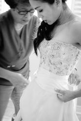 Wedding morning photograph
