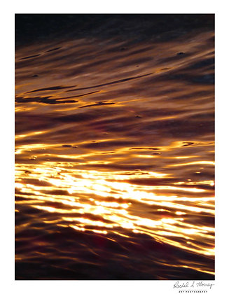 Fine Art Print -'Sunrise Sparks' Eastern Beach