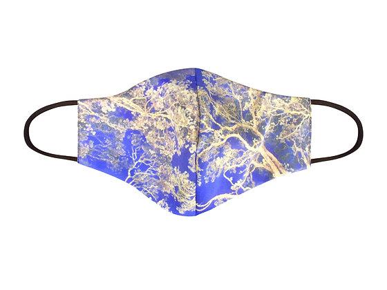 Mooney Mask - 'Pohutukawa Blue'