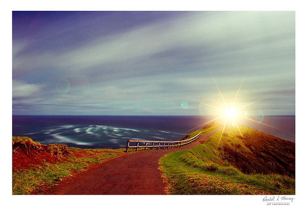 Fine Art Print -'The Cape Lighthouse' Cape Reinga
