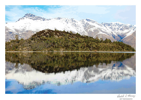 Fine Art Print -'Queenstown Reflections' Queenstown