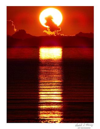 Fine Art Print -'Surreal Sunrise' Eastern Beach