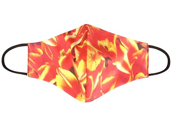 Mooney Mask - 'Tulips on Fire'