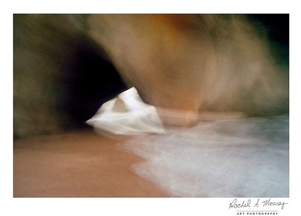 Fine Art Print - 'Cathedral Cove Abstract' Coromandel