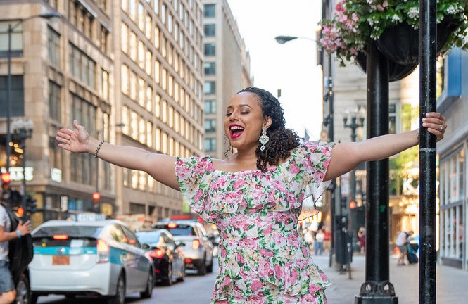 Cary Martin Shelby finding her joy in Chicago