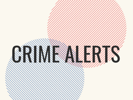 FARSI Crime Alerts Sept 10- 17
