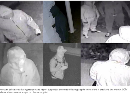 West Vancouver Break-ins