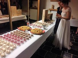 dessertenbuffet trouwfeest chocomousse tiramisu panna cotta wafels wedding pasta et cetera mobiele pastabar foodtruck