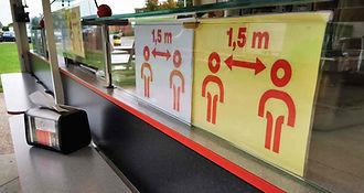 social distancing Pasta Et Cetera foodtruck