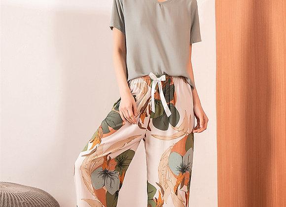 2021-132 High Waist Soft Comfort Women Pants