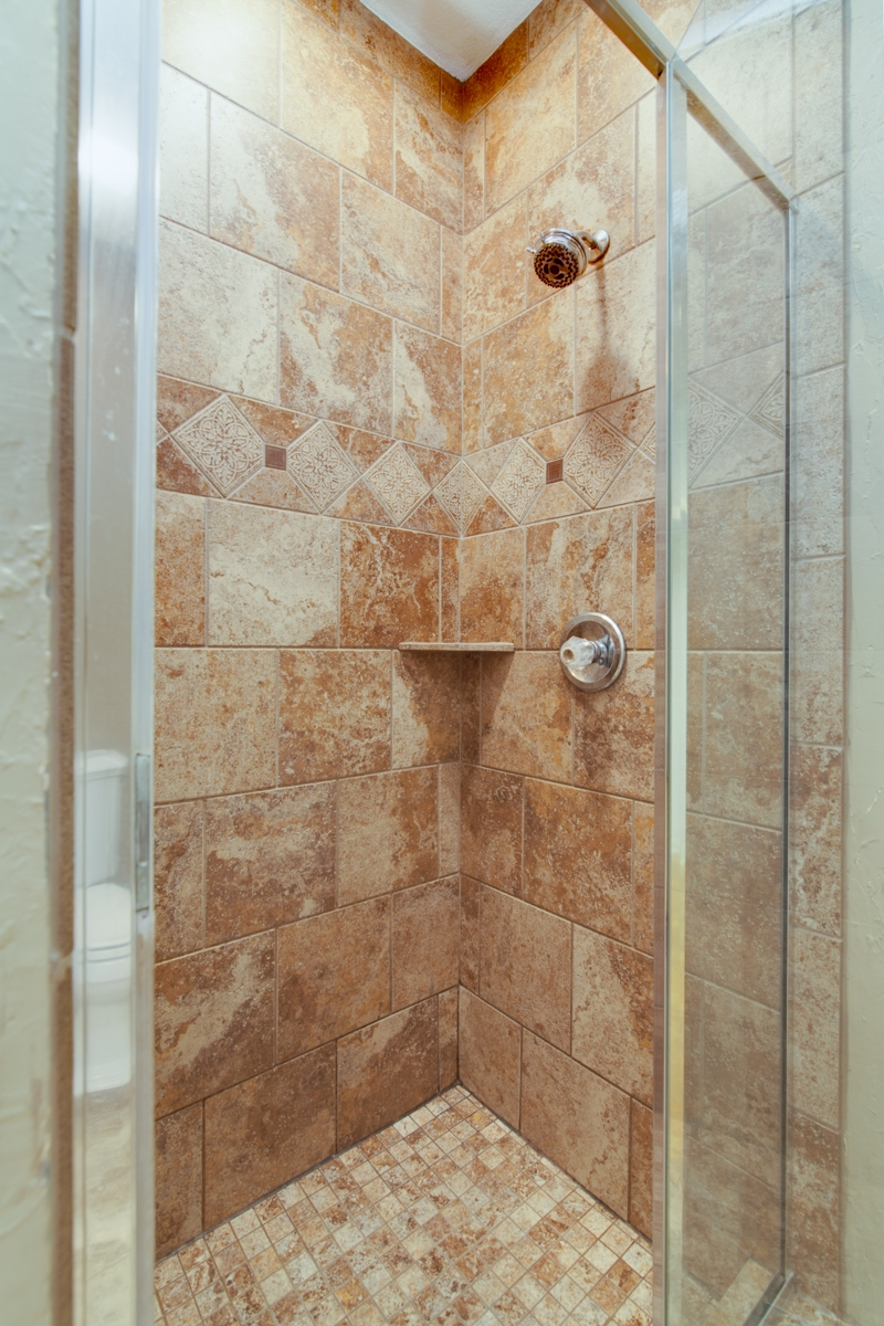 Custom Shower Makeover