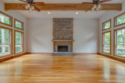 Great Room with Fireplace Makeover