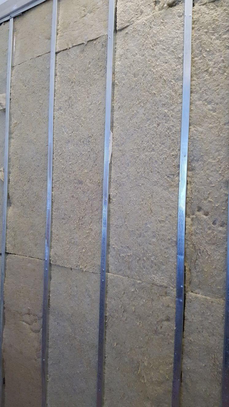 Soundproof wall Roxul