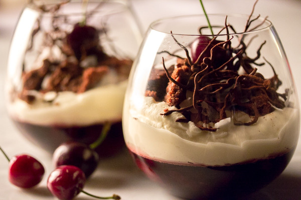 Summer 'Black Forest' Verrine