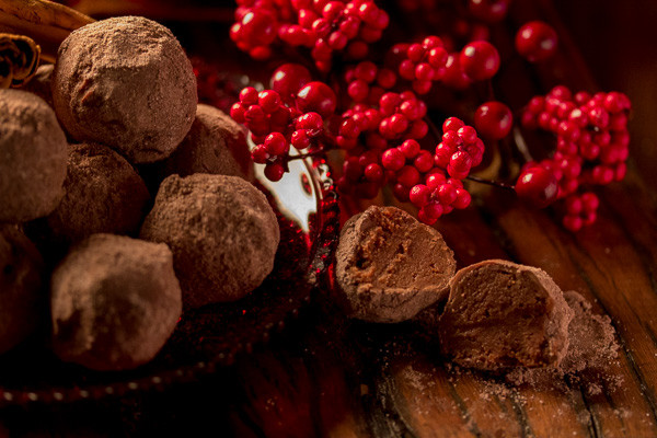 Gingerbread Spiced Truffles