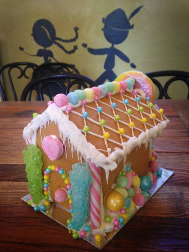 Gingerbread House - decorated