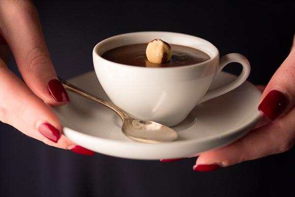 Hazelnut Pots au Chocolat