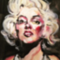 BABOU URBAN ART 1979 Marilyn