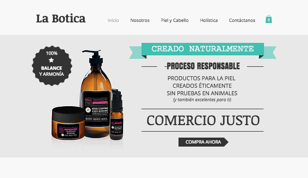 Ver todas las plantillas website templates –  La botica