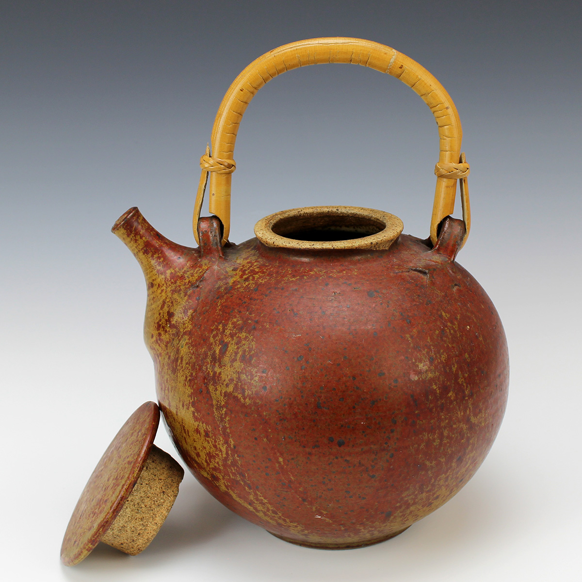 Shaner Covered Teapot