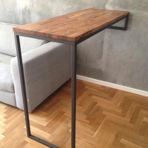 שולחן בר תלוי צד