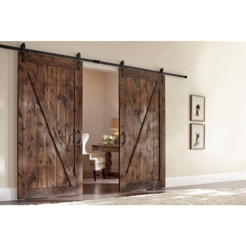 דלתות אסם כפולות למפתחים גדולים