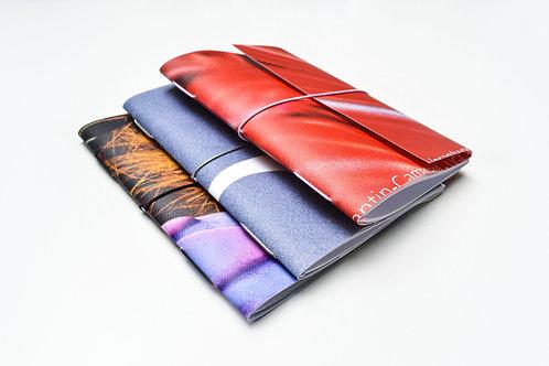 Boekbinden 2: Pocketbook met wikkel en elastiek 13/11