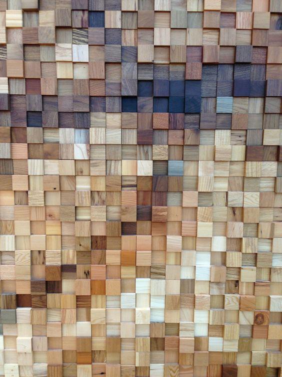 קיר תלת מימד במבחר גוונים