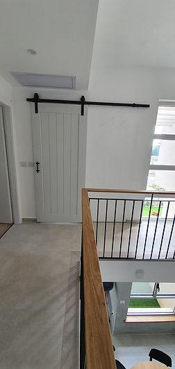 דלת אסם פאנל פתוח
