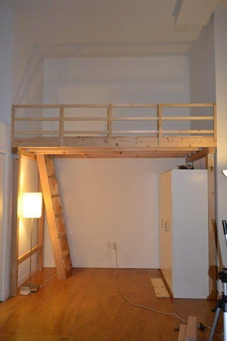 גלריה חדר ילד מעץ