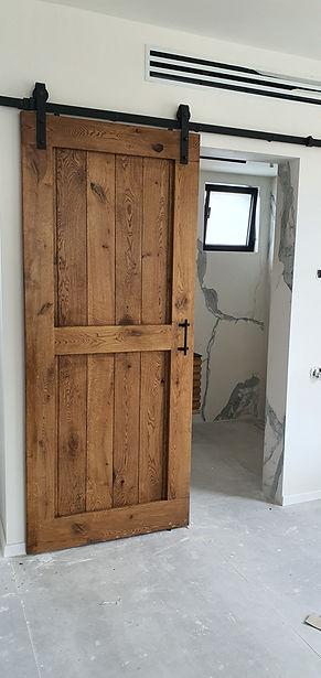 דלת אסם פאנל חצוי