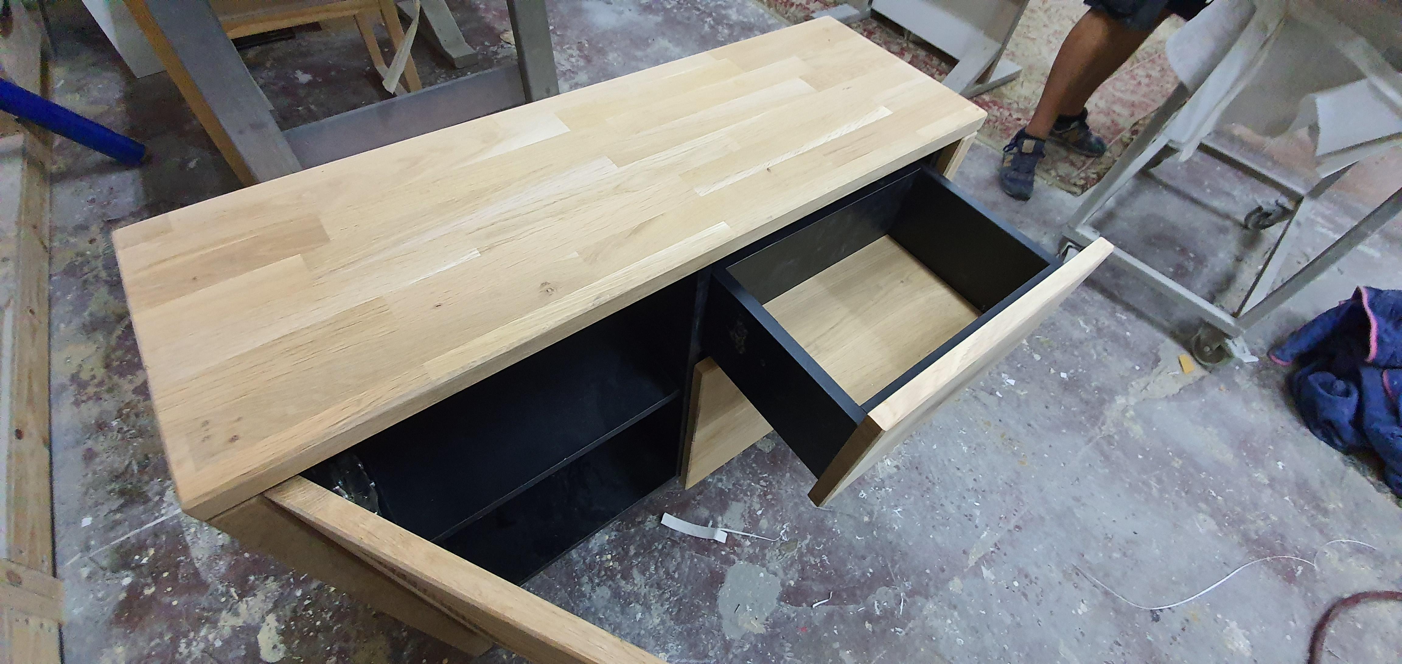 ארוניות אמבטיה מעץ