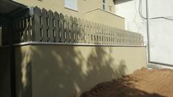 גדר עץ אביב רמודלינג