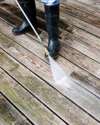 חידוש דק עם לחץ מים