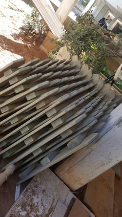 גדר עץ